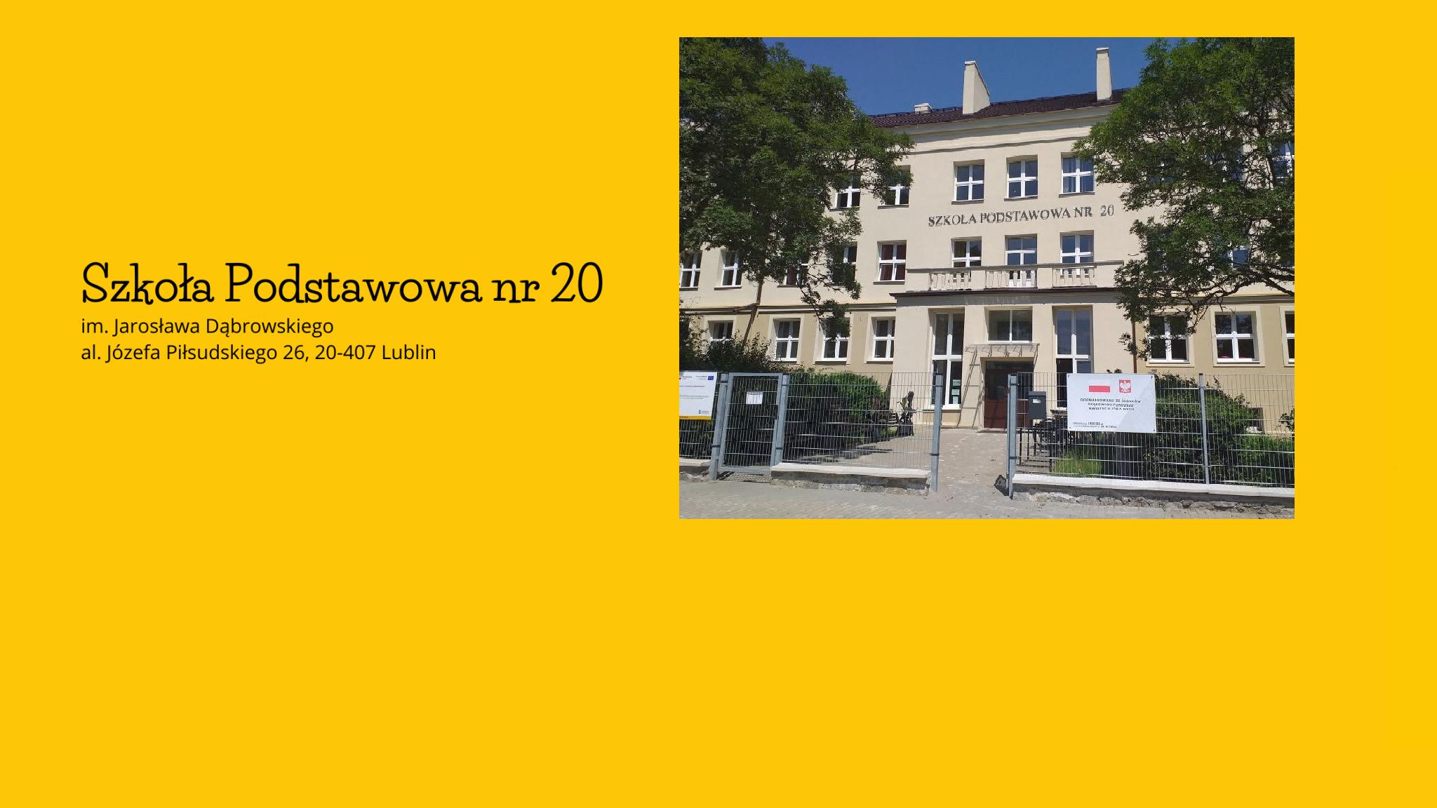 Szkoła Podstawowa nr 20 w Lublinie